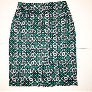 J. Crew Skirts - J. Crew Lattice Skirt Size 8
